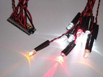 10x LED Module - Great for RC Cars - Self Build Kit